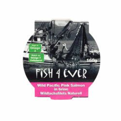 Fish4Ever Wildlachsfilets Naturell-reich an Omega 3 Fettsäuren 9x160g