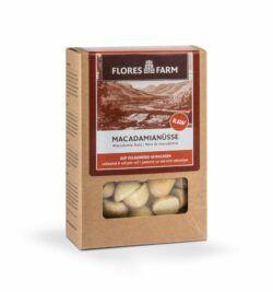 Flores Farm Premium Bio Macadamia 6x75g