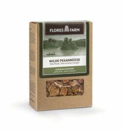 Flores Farm Premium Bio ´Wilde´ Pekannüsse 6x75g