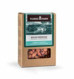 Flores Farm Premium Bio ´wilde´ Erdnüsse aus Indonesien 6x100g