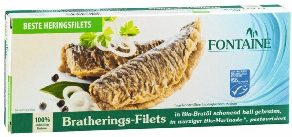 Fontaine Bratherings-Filets in Bio-Marinade 325g