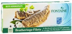 Fontaine Bratherings-Filets in Bio-Marinade 6x325g