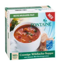 Fontaine Cremige Wildlachs-Suppe mit feinem Bio-Gartengemüse 5x400ml
