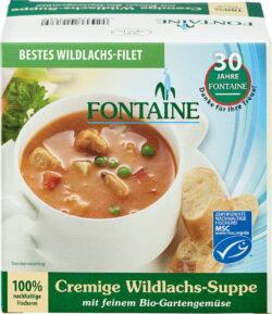 Fontaine Cremige Wildlachs-Suppe mit feinem Bio-Gartengemüse 400ml