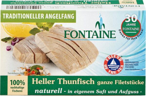 Fontaine Heller Thunfisch naturell 120g