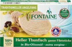 Fontaine Heller Thunfisch in Bio-Olivenöl 120g