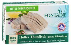 Fontaine Heller Thunfisch naturell 10x120g