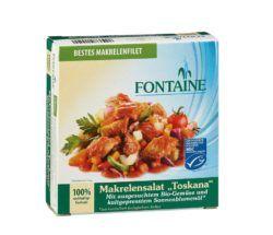 Fontaine Makrelensalat Toskana 8x200g