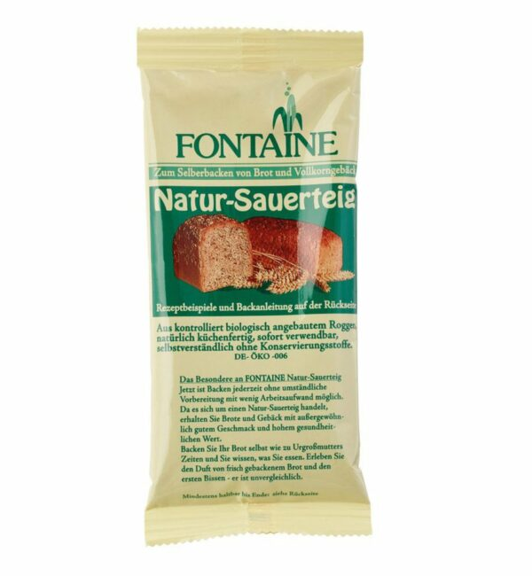 Fontaine Natur-Sauerteig 150g