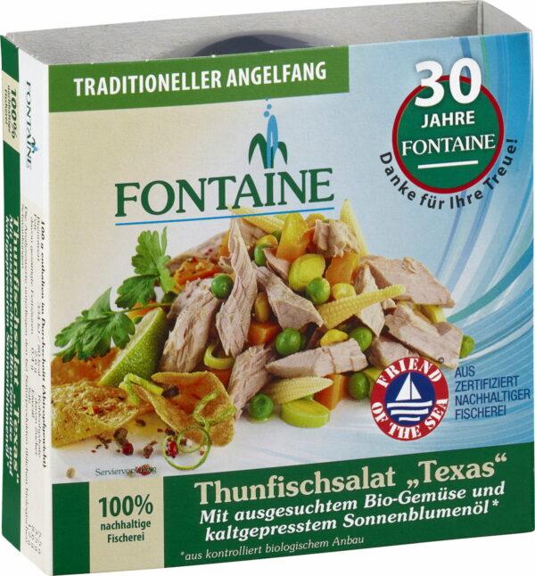 Fontaine Thunfischsalat Texas 200g