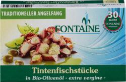 Fontaine Tintenfischstücke in Bio-Olivenöl 10x120g