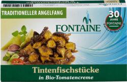 Fontaine Tintenfischstücke in Bio-Tomatencreme 10x120g