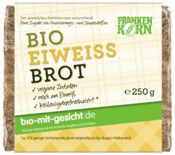 Frankenkorn Bio Eiweißbrot - ein eiweißreiches Bio Natursauerteigbrot 12x250g