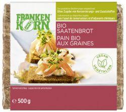 Frankenkorn Bio Mehrkornbrot mit Saaten 6x500g