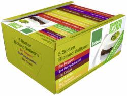 Frankenkorn Sortiment aus 5 Bio Brotsorten 6x500g
