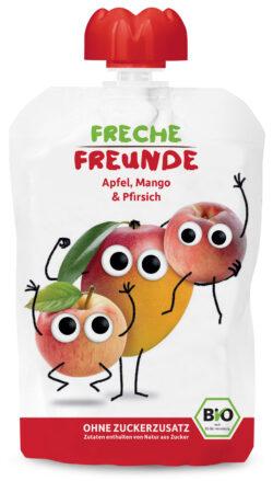 """Freche Freunde """"Apfel, Mango & Pfirsich"""" BIO 6x100g"""