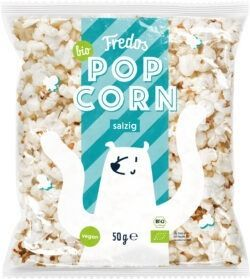 Fredos Bio-Popcorn, salzig 8x50g