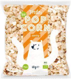 Fredos Bio-Popcorn, zimtig 8x60g