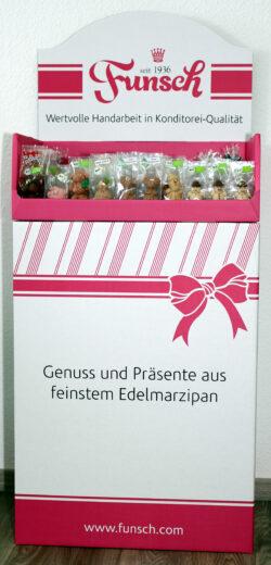 Funsch Marzipan BIO BD Weihnachten/Silvester 1Stück