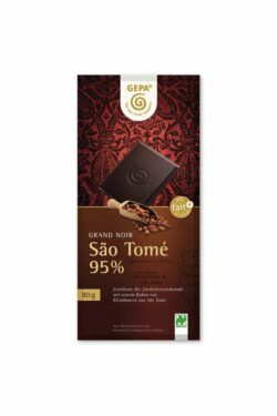 GEPA - The Fair Trade Company São Tomé 95% 10x80g