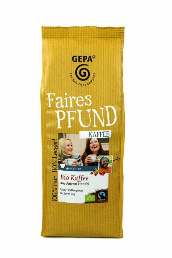 GEPA - The Fair Trade Company Faires Pfund Kaffee 6x500g