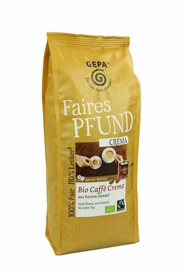 GEPA - The Fair Trade Company Faires Pfund Crema 6x500g