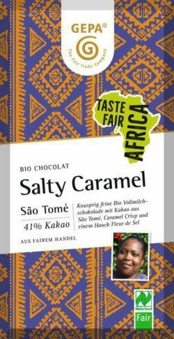 GEPA - The Fair Trade Company Bio Vollmilch Salty Caramel 10x80g