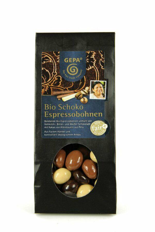 GEPA - The Fair Trade Company Bio Schoko Espressobohnen 10x100g