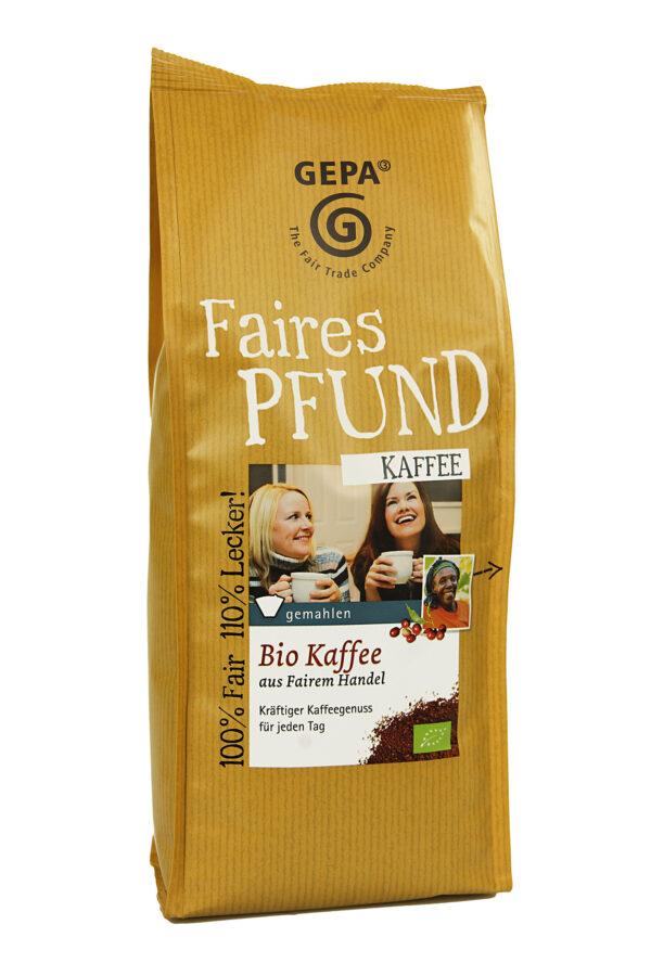 GEPA - The Fair Trade Company Faires Pfund Kaffee 500g