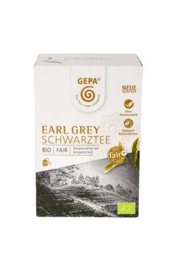 GEPA - The Fair Trade Company Bio Schwarztee Earl Grey Teebeutel 5x34g