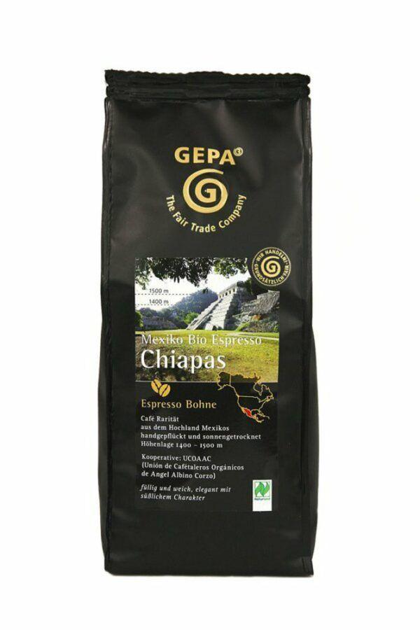 GEPA - The Fair Trade Company Mexiko Bio Espresso Chiapas 6x250g