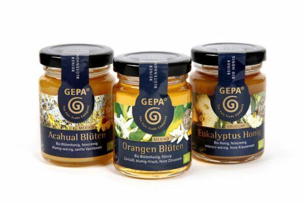 GEPA - The Fair Trade Company Honig Trio 12x375g