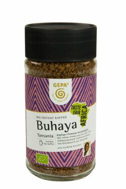 GEPA - The Fair Trade Company Bio Kaffee Buhaya, gefriergetrocknet 6x100g