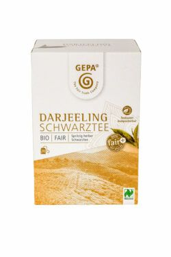 GEPA - The Fair Trade Company Bio Schwarztee Darjeeling Teebeutel 5x20Btl