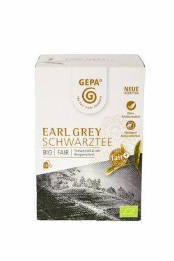 GEPA - The Fair Trade Company Bio Schwarztee Earl Grey Teebeutel 5x20Btl