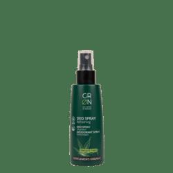 GRN [GRÜN] Deo Spray Erfrischend Bio-Hanf & Bio-Hopfen - Gentlemen's Organic 75ml