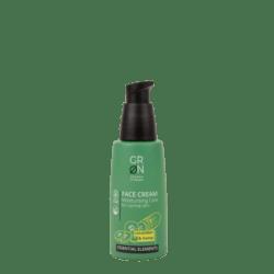 GRN [GRÜN] Gesichtscreme FeuchtigkeitsspendendePflege Bio-Hanf & Bio-Gurke- Essential Elements 50ml