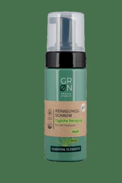 GRN [GRÜN] Reinigungsschaum Tägliche Reinigung Bio-Hanf - Essential Elements 150ml