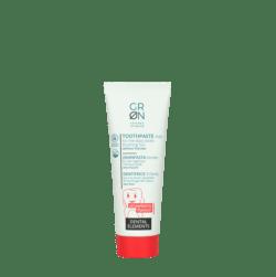 GRN [GRÜN] Zahnpasta Kinder - Ohne Fluorid, Erdbeer-Geschmack - Dental Elements 50ml