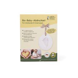 GRÜNSPECHT Naturprodukte GRÜNSPECHT Bio-Baby-Abdruckset Memory bleibende Hand- und/oder Fußabdrücke 1Stück