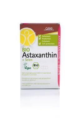 GSE  BIO Astaxanthin + Selen, Kapseln à 375 mg 45Stück