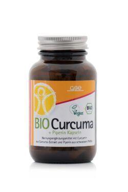 GSE  BIO Curcuma+Piperin Kapseln à 600 mg 90Stück