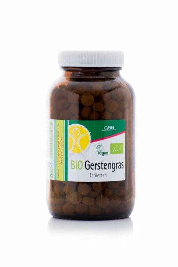 GSE  BIO Gerstengras, 500 Tabletten à 500 mg 250g
