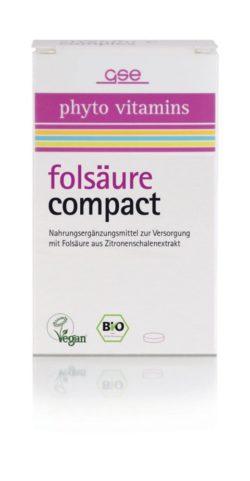 GSE  Folsäure Compact (Bio), 120 Tabl. à 280 mg 34g
