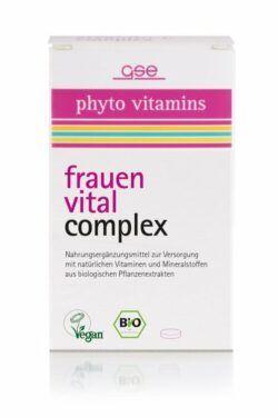 GSE  Frauen Vital Complex (Bio), 60 Tabl. à 500mg 30g