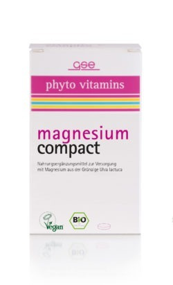 GSE  Magnesium Compact (Bio), 60 Tabl. à 615 mg 37g