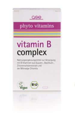 GSE  Vitamin B Complex (Bio), 60 Tabl. à 500mg 30g