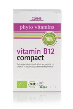 GSE Vitamin B12 Compact (Bio), 120 Tabl. à 280 mg 34g