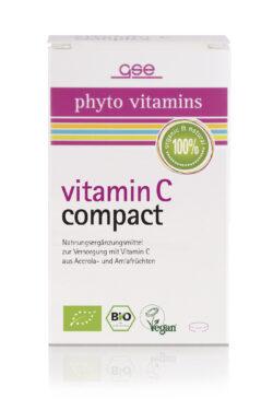 GSE  Vitamin C Compact (Bio), 60 Tabl. à 500 mg 30g