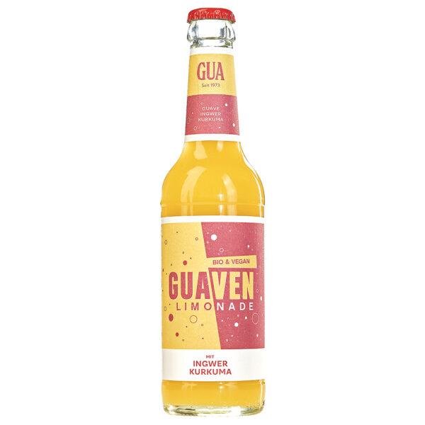 GUA Bio-ven-Fruchtlimonade mit Ingwer- und Kurkumasaft 24x330ml